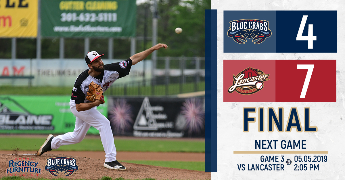 Wild Eighth Inning Leads to Blue Crabs� Defeat
