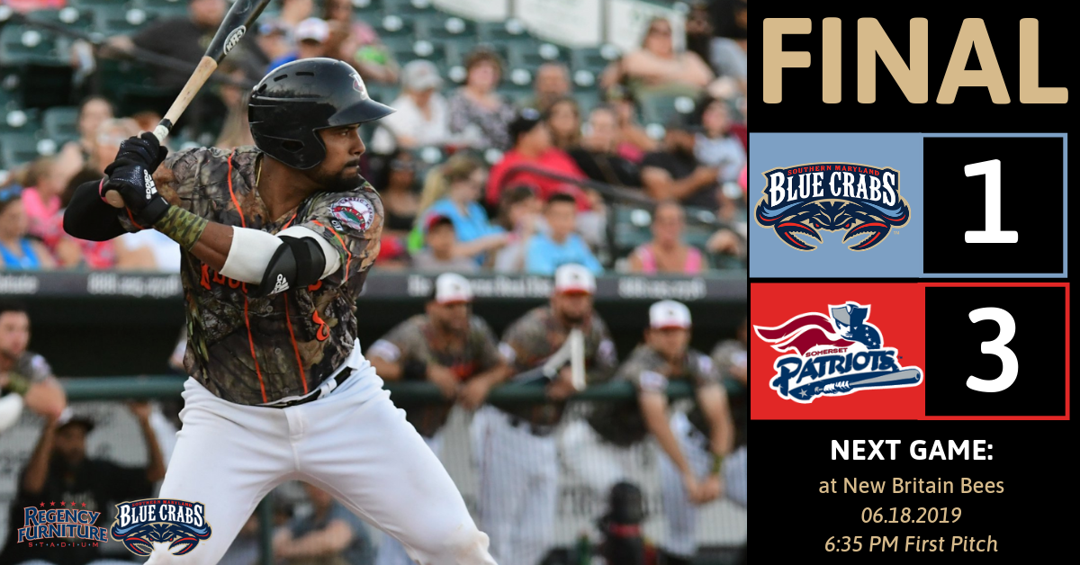 Blue Crabs' Rally Falls Short in 9-7 Loss