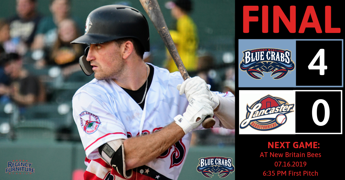 Blue Crabs Win Fifth Straight