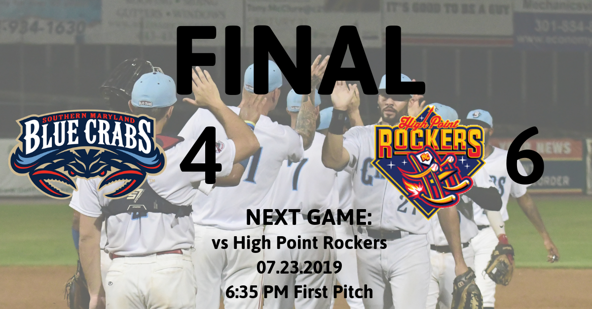 Home Run Dominant Game Swings in Favor of High Point