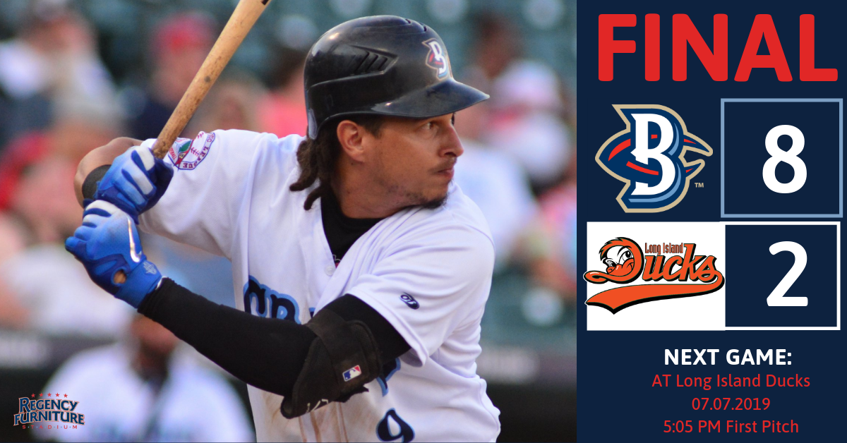 Offense Powers Blue Crabs Over Ducks