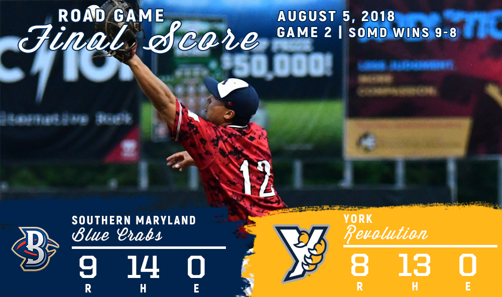 BLUE CRABS HOLD ON IN SUSPENDED SERIES OPENER