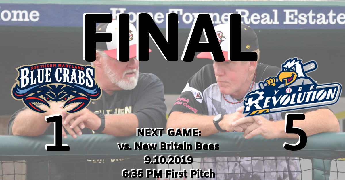 Blue Crabs Drop Crucial Finale