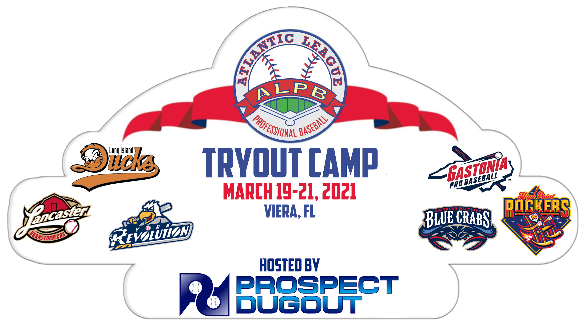 ATLANTIC LEAGUE, PROSPECT DUGOUT ANNOUNCE  SPRING PRO BASEBALL TRYOUT CAMP