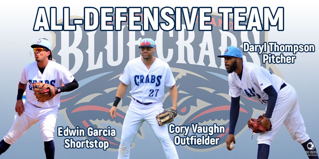 Three Blue Crabs Named To ALPB All-Defensive Team