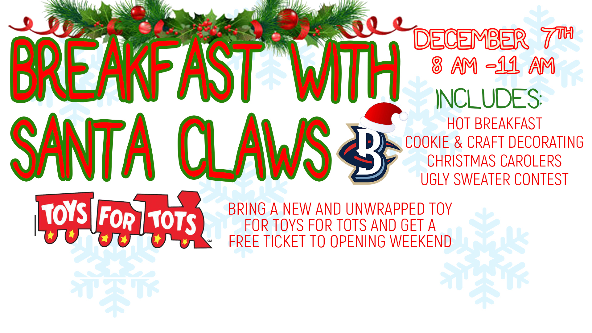 Breakfast With �Santa Claws� Returns