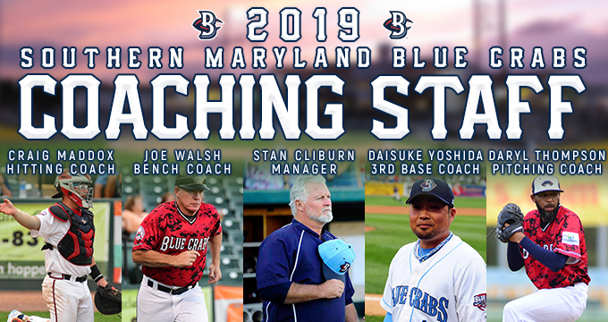 Southern Maryland Blue Crabs Announce 2019 Coaching Staff