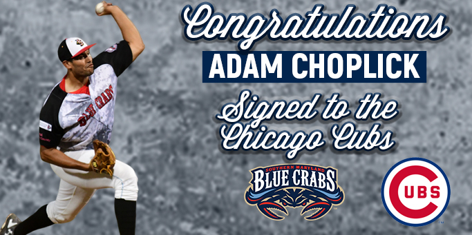 Adam Choplick Signs With Chicago Cubs Organization