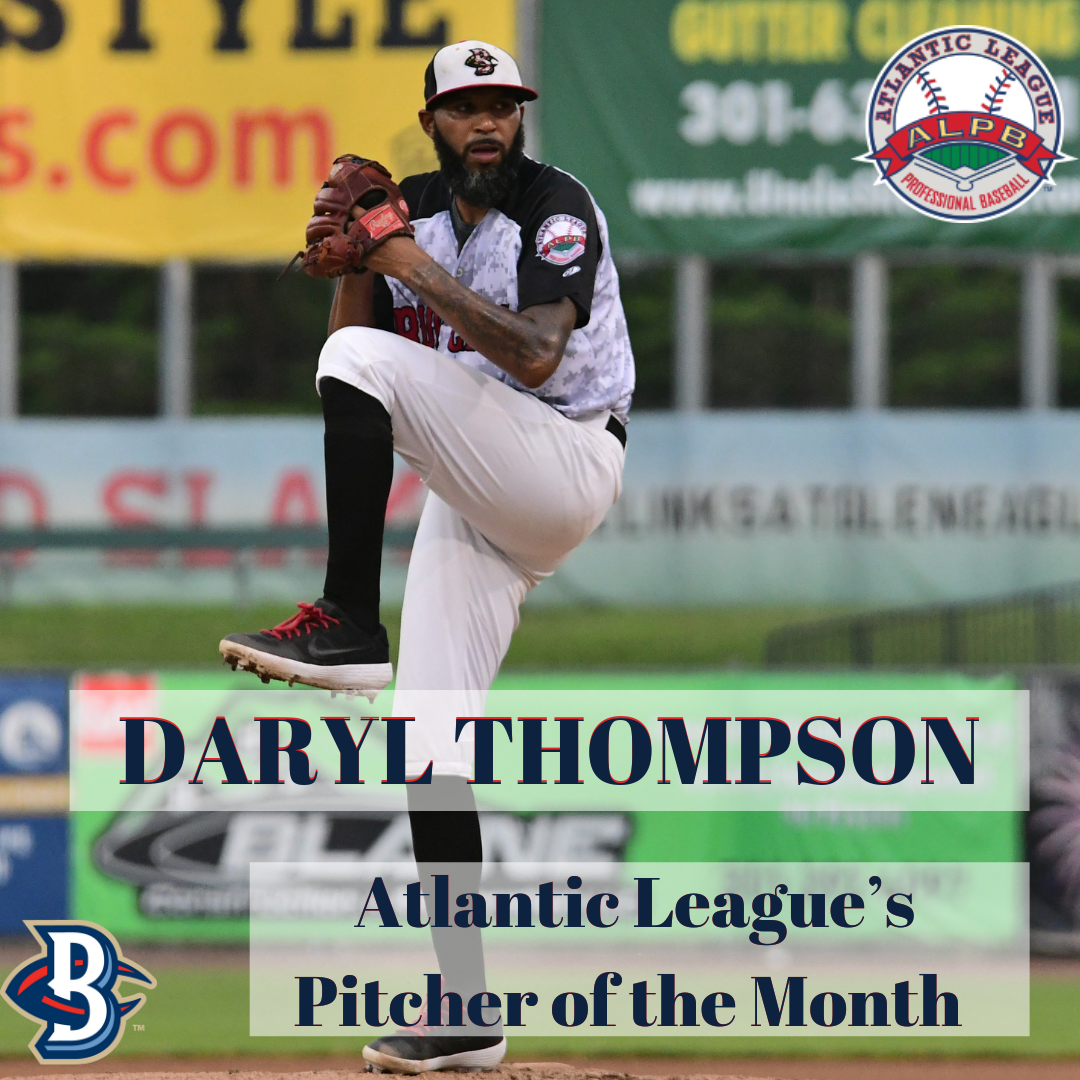 Tejeda, Thompson Claim Monthly Honors for July