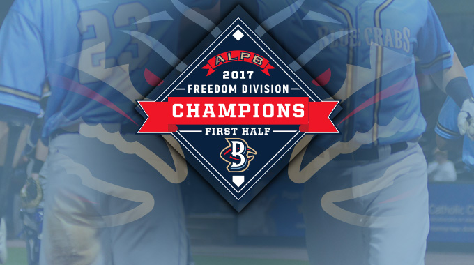 BLUE CRABS CLINCH FIRST HALF CHAMPIONSHIP