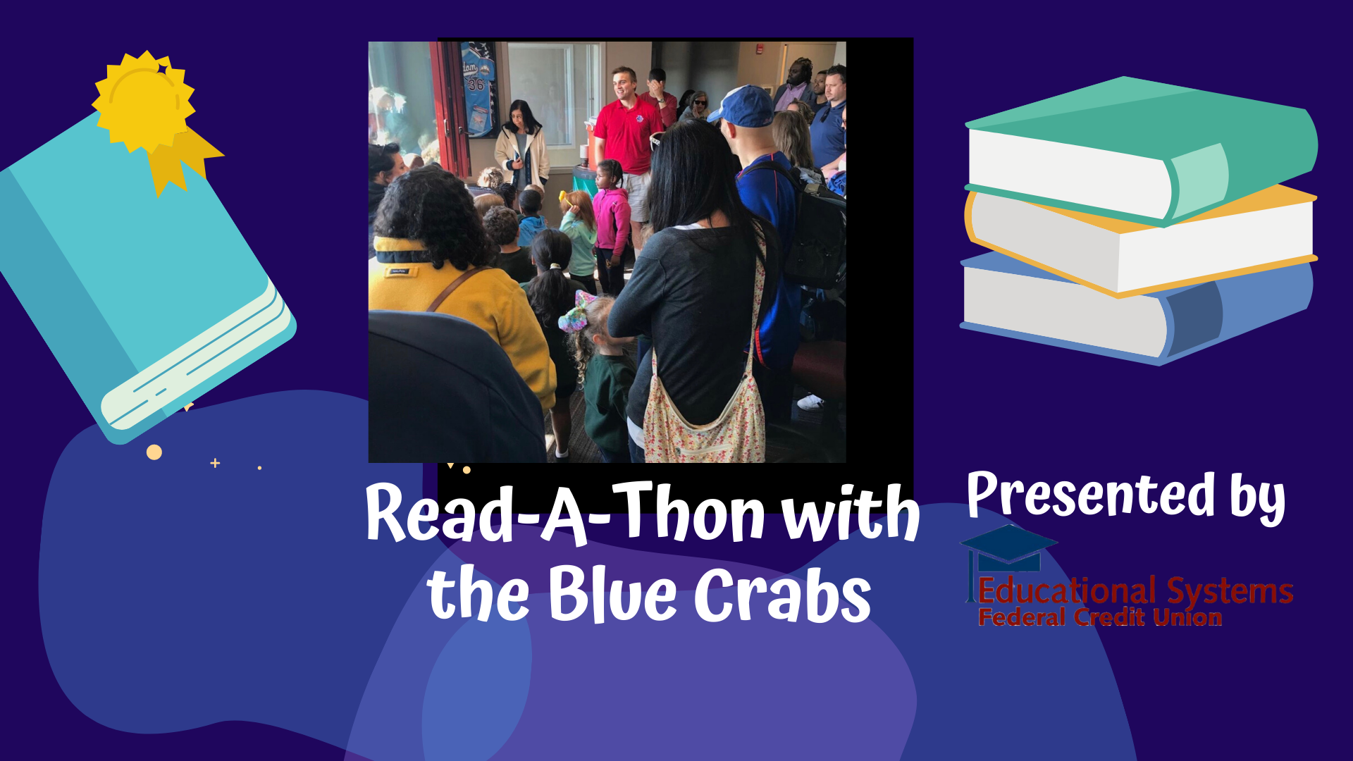 Blue Crabs To Do Virtual Read-a-Thon Every Tuesday and Thursday