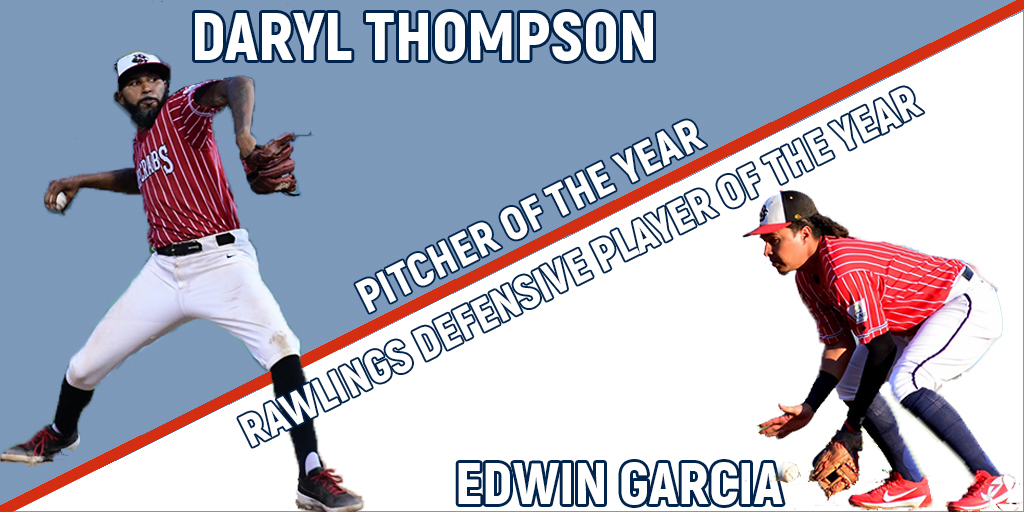 Thompson Wins ALPB Pitcher of the Year, Garcia Repeats Rawlings Gold Glove Defensive Player of the Year