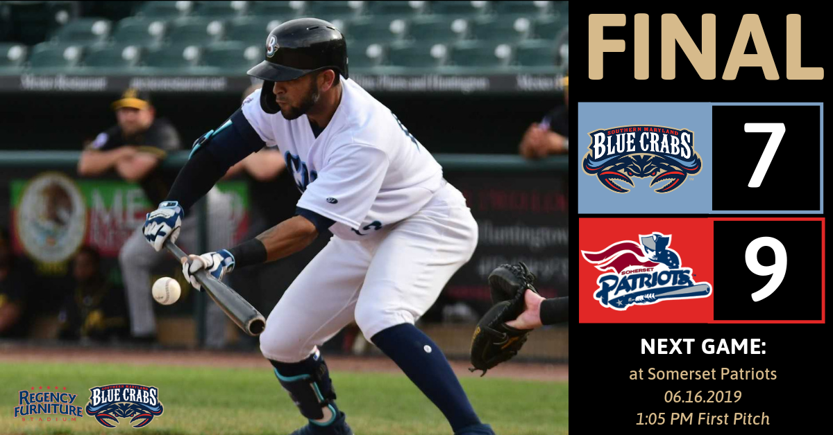 Blue Crabs Bats Fall Silent in 3-1 Loss