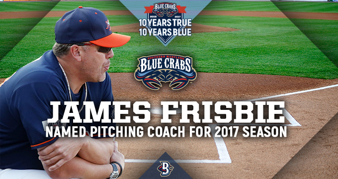 James Frisbie Named Pitching Coach