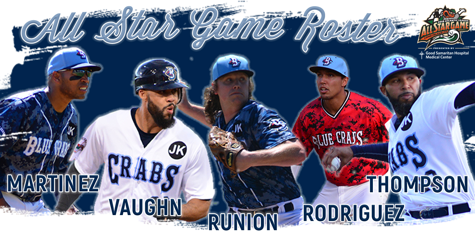 Five Blue Crabs Voted To Freedom Division All-Stars
