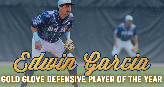 Edwin Garcia Wins ALPB Gold Glove Award
