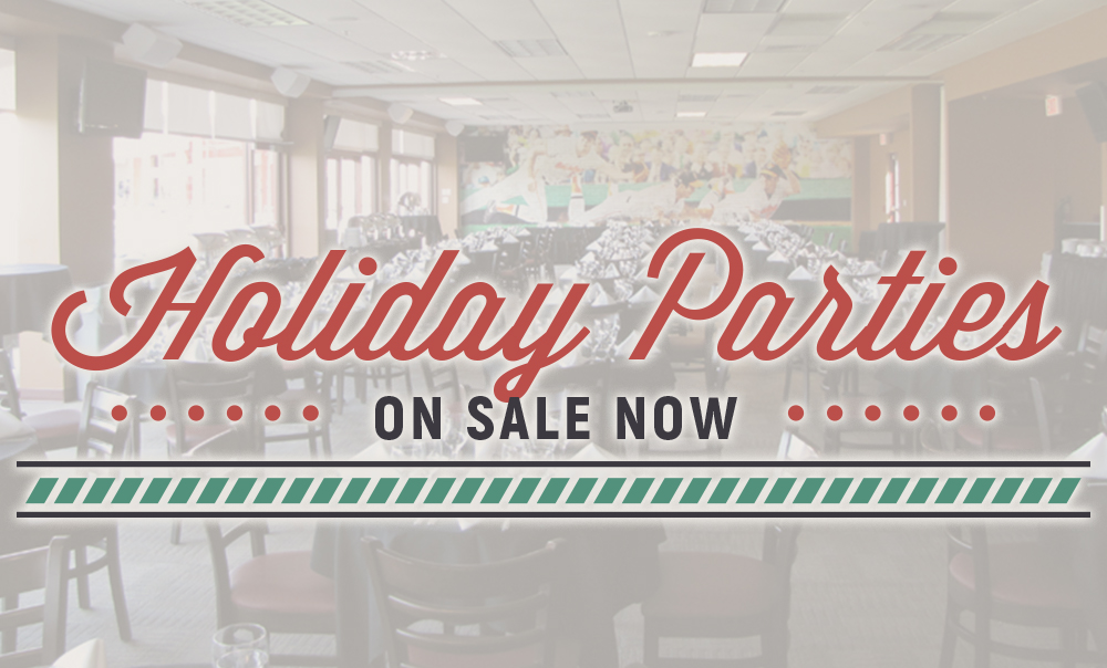 Holiday Parties On Sale Now!