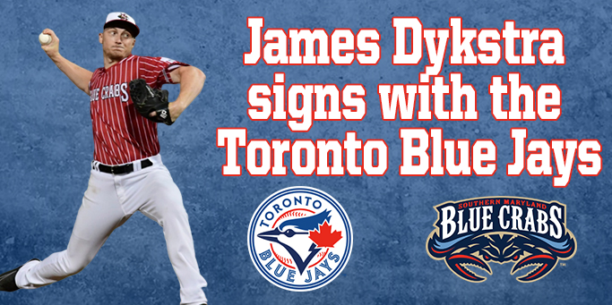 James Dykstra Signs With The Toronto Blue Jays