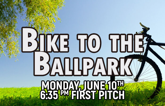Bike to the Ball Park 6/10