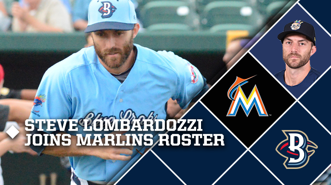 Steve lombardozzi called up by marlins