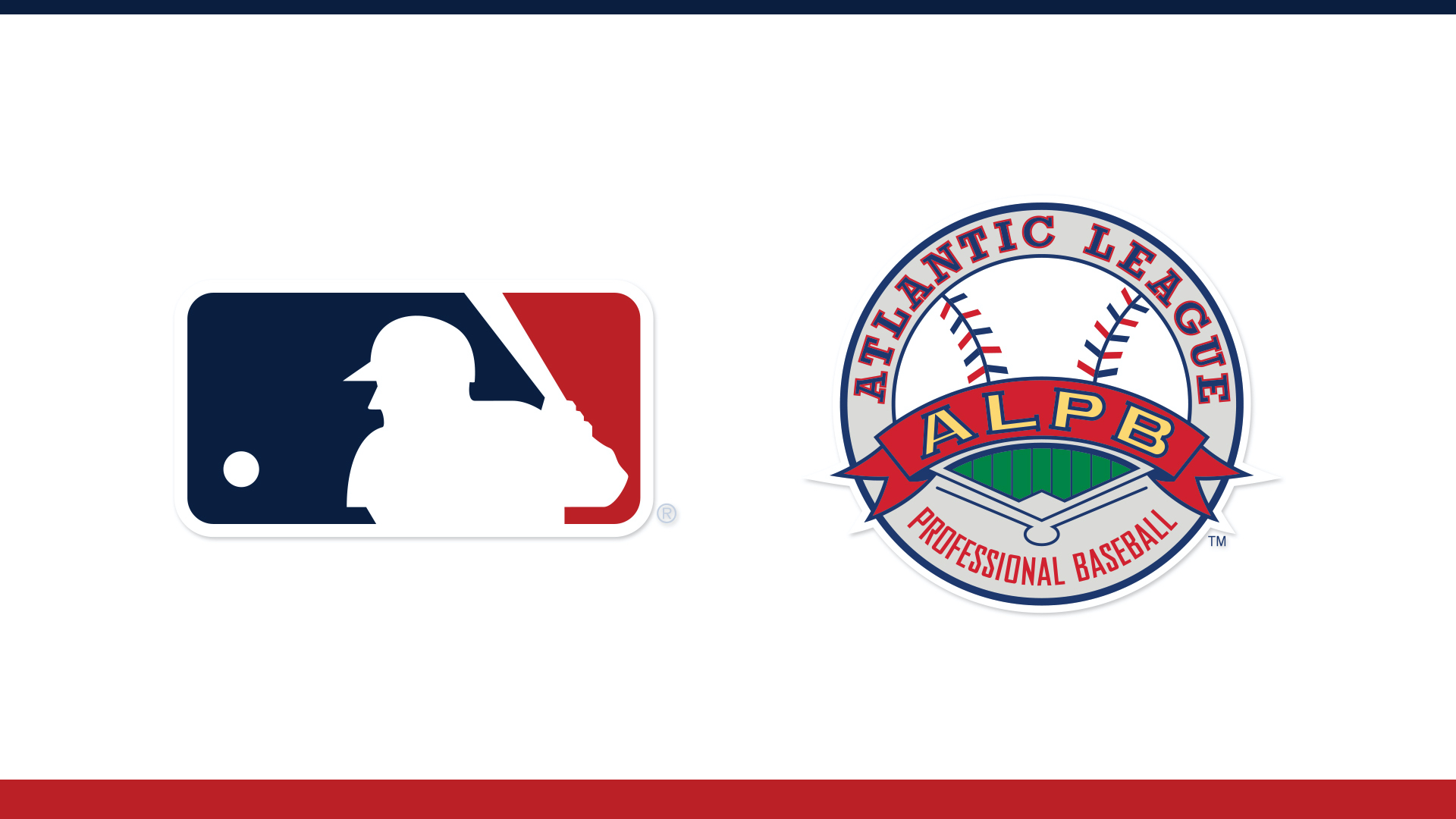 MLB, ATLANTIC LEAGUE ANNOUNCE EXPERIMENTAL PLAYING RULES FOR 2021 ATLANTIC LEAGUE SEASON