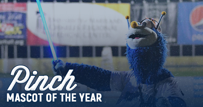 Pinch Wins Mascot of the Year