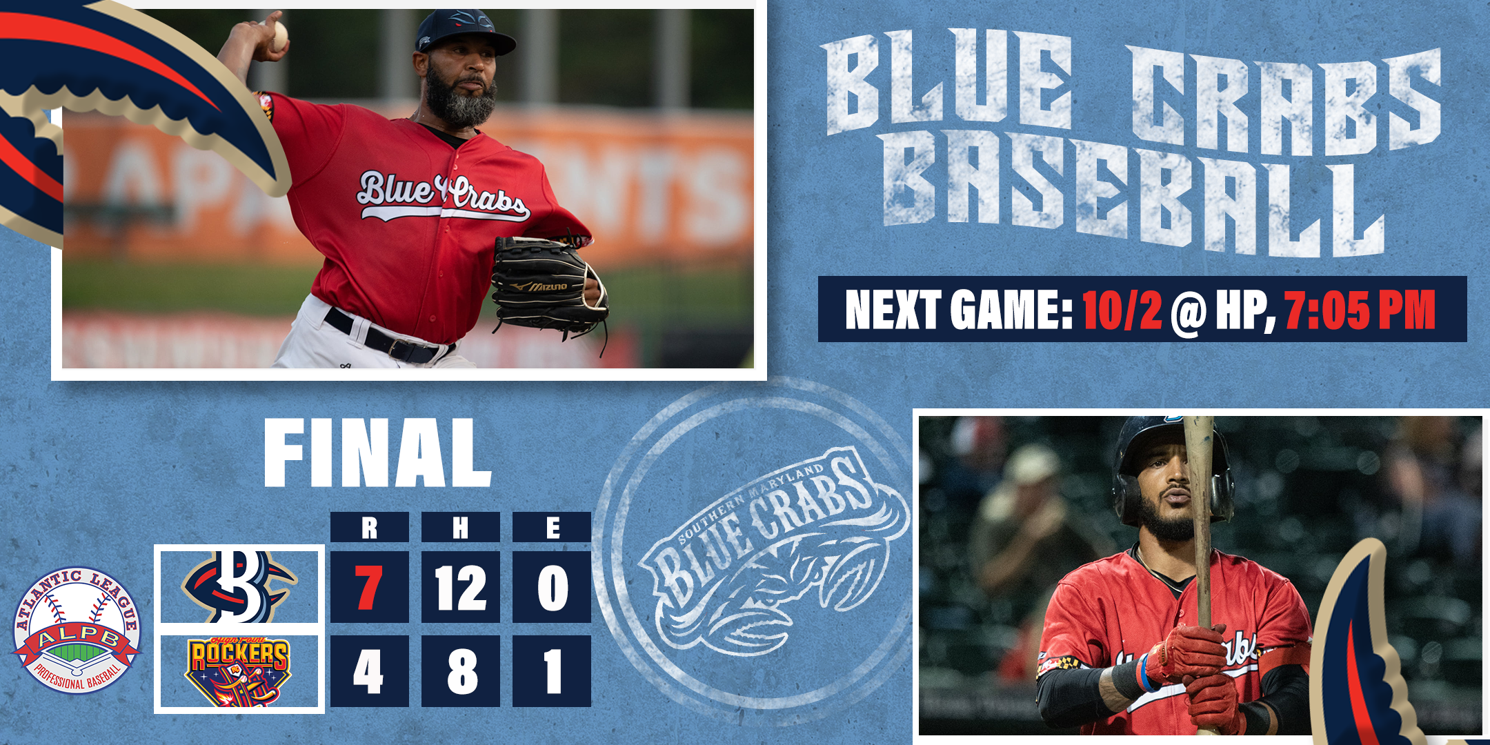 Thompson Ties Atlantic League Record for All-Time Wins at 74 Against Rockers