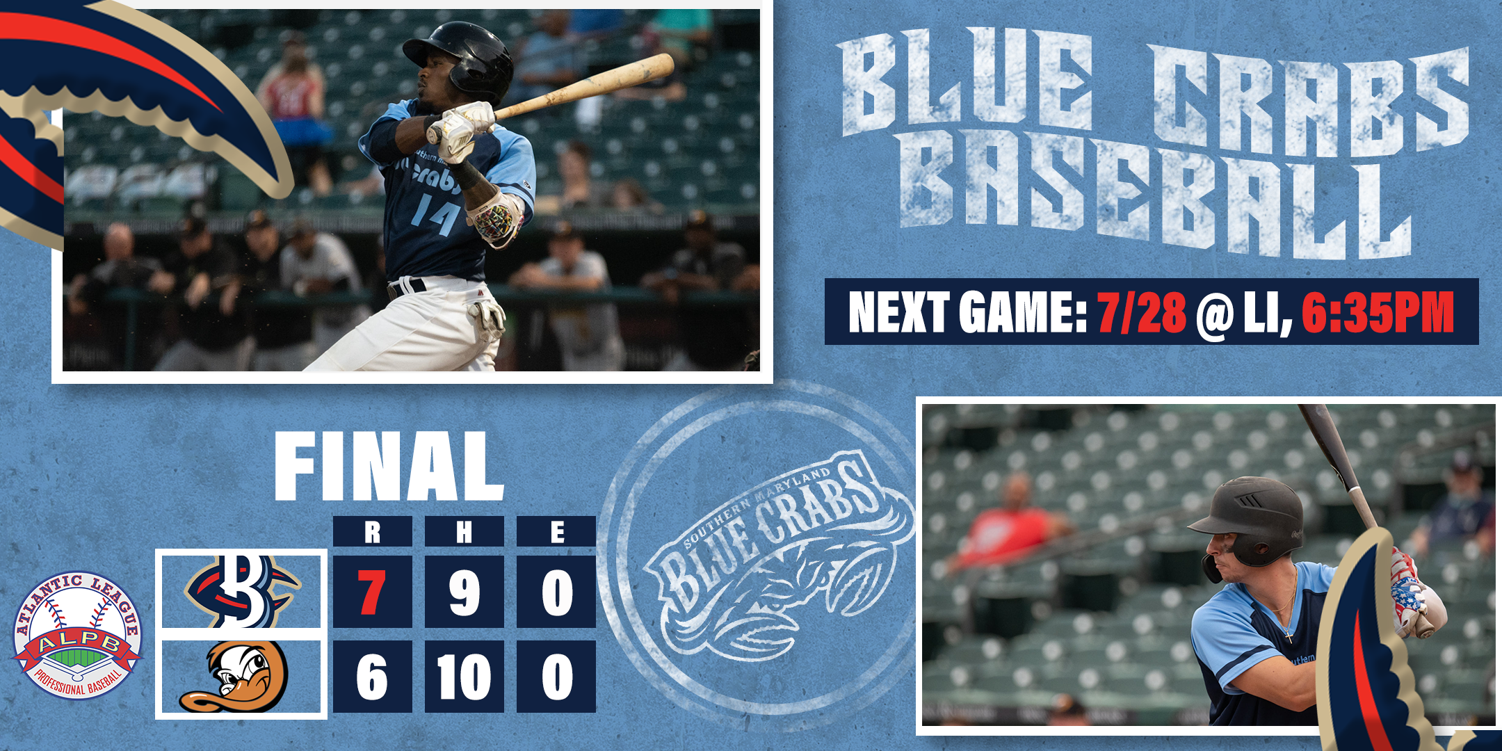 Crabs Snap Ducks 12 Game Win Streak, Keep First Half Title Hopes Alive