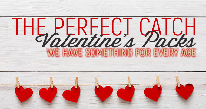 Perfect Catch Valentine's Pack's Available for Purchase