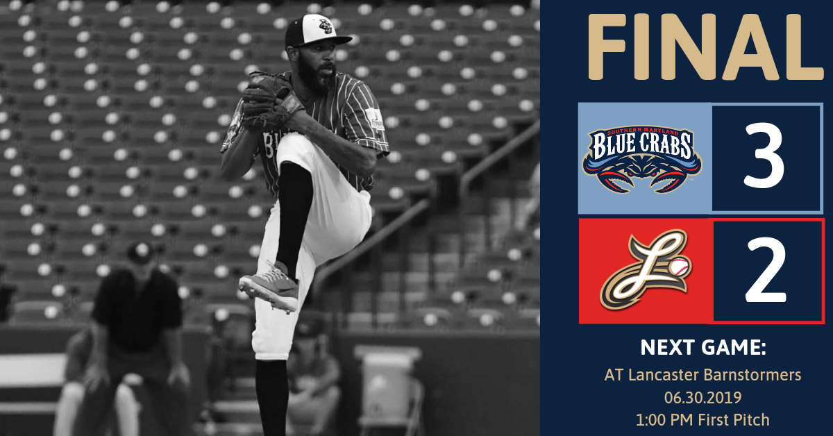 Blue Crabs Fall in Final Game of Homestand