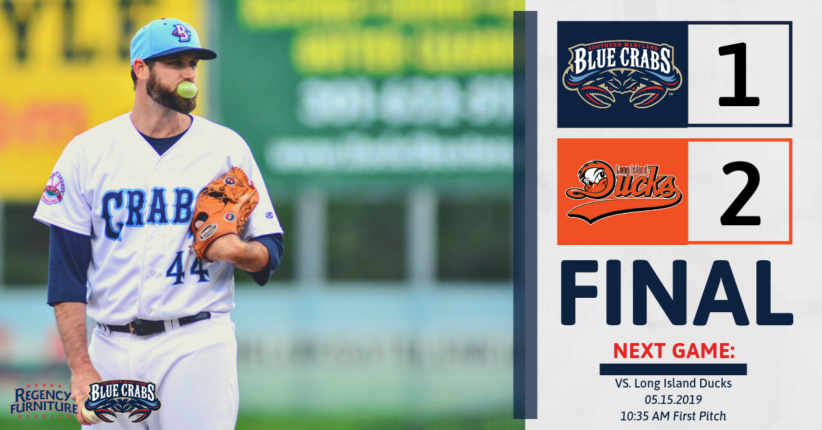 Blue Crabs Drop Game Two Against Long Island