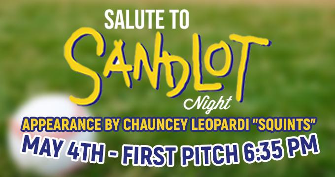 Salute to Sandlot Night