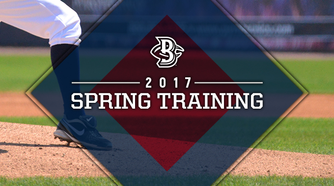 Spring Training Schedule