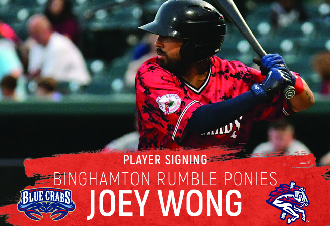 Joey Wong Signed by New York Mets