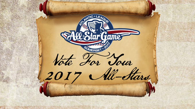 ATLANTIC LEAGUE ANNOUNCES FAN VOTING FOR THE 2017 ALL-STAR GAME