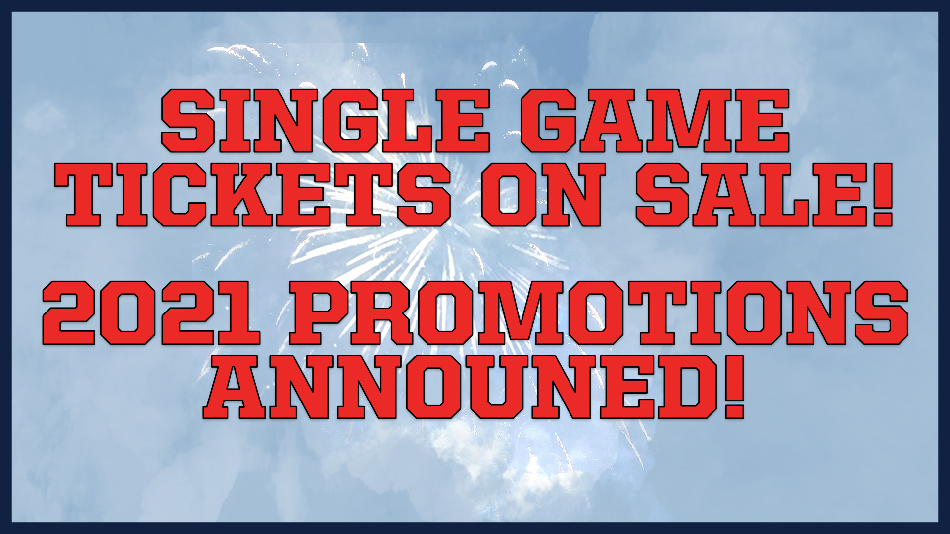 Blue Crabs Single Game Tickets On Sale, Promotional Schedule Released