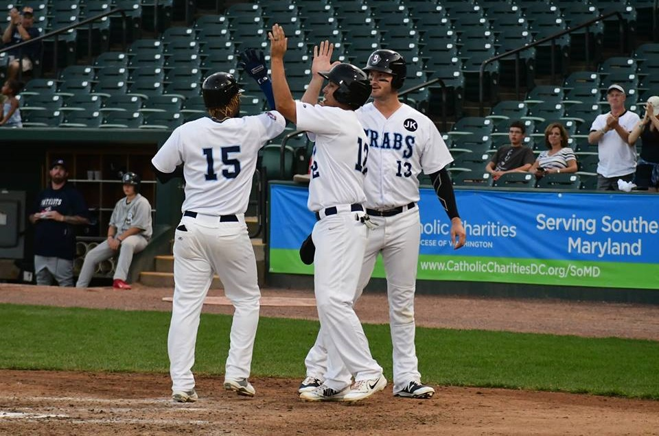 Blue Crabs Bounce Back in Thompson's Return