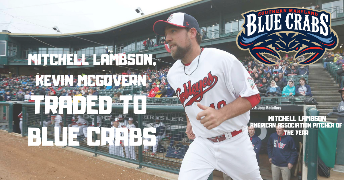 Blue Crabs Add American Association Pitcher of the Year and More