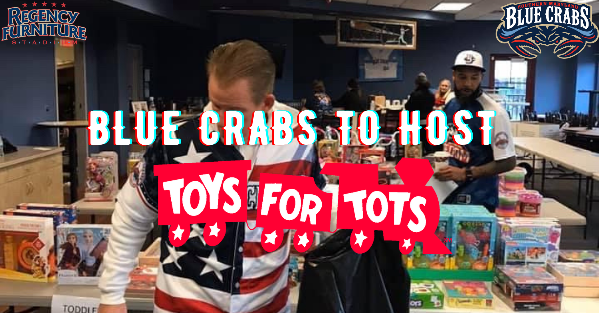 Blue Crabs To Host Toys For Tots