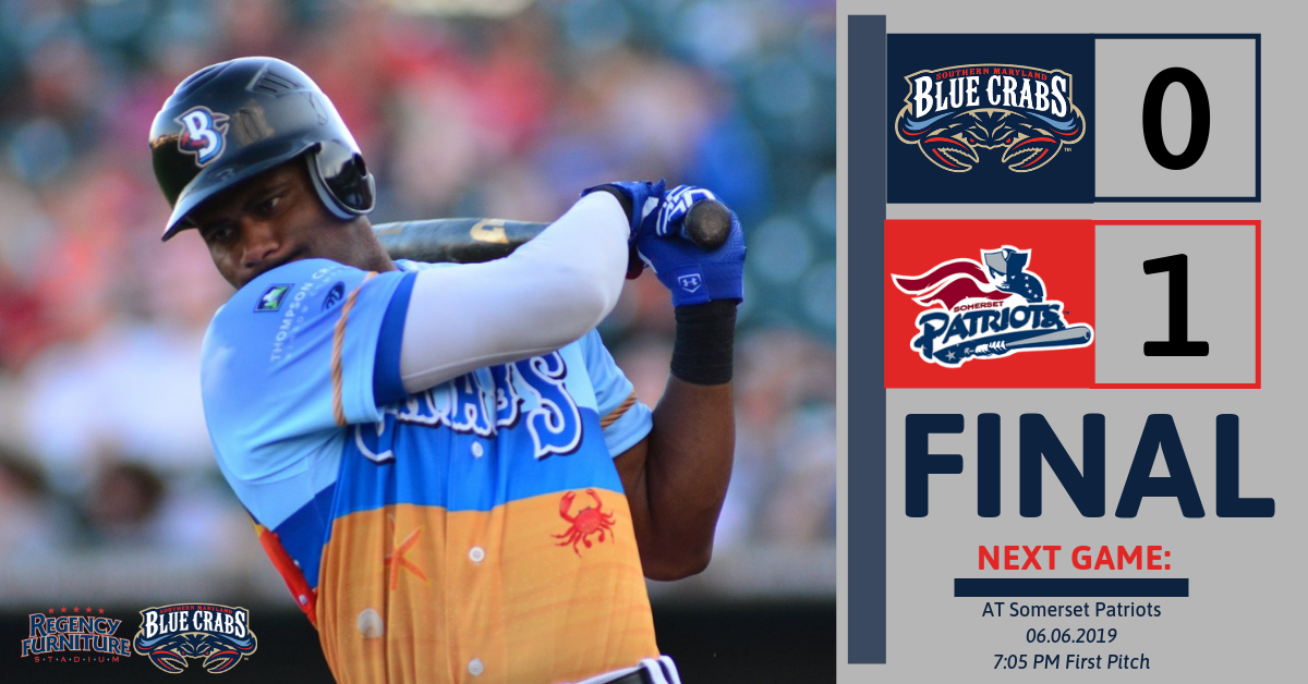 Patriots Blank the Blue Crabs