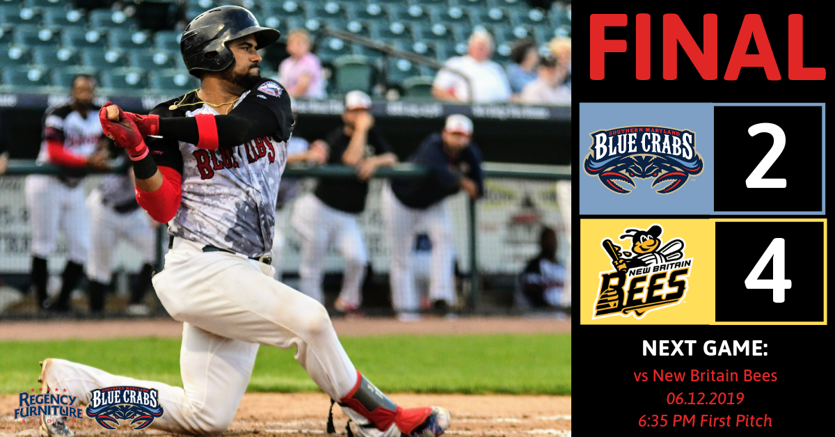 Bees Swarm Blue Crabs Early to Snap a Southern Maryland Win Streak