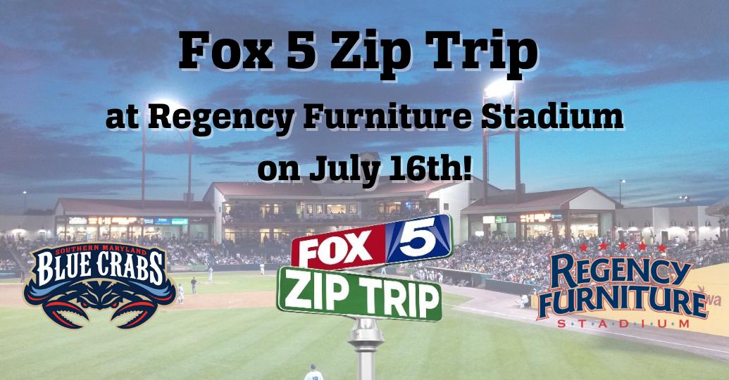 Fox 5 DC Zip Trip Coming to Regency Furniture Stadium